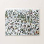 "Where's Waldo Ski Slopes Jigsaw Puzzle<br><div class=""desc"">Where's wally you ask? This happy and colorful poster features an original illustration by graphic artist, Martin Handford. In a cheerful array of rainbow colors with images, you can seek and find Waldo on the ski slopes. This Where's Waldo image in children's book is just waiting for you to go...</div>"