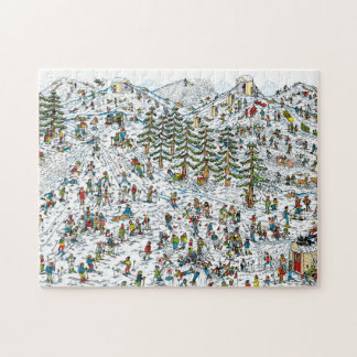 Where's Waldo Ski Slopes Jigsaw Puzzle