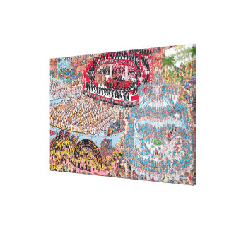 Where's Waldo | Tremendous Song and Dance Canvas Print