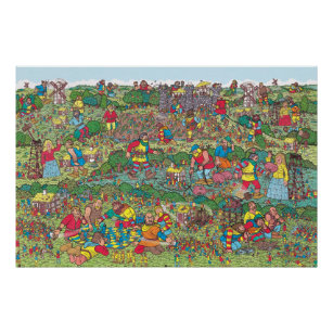 graphic regarding Where's Waldo Pictures Printable identify Wheres Waldo Unfriendly Giants Poster