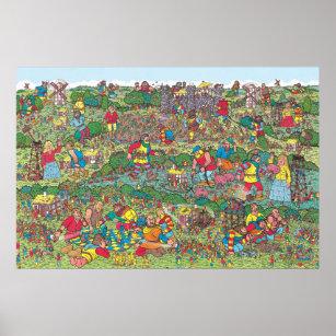 photograph regarding Where's Waldo Pictures Printable referred to as Wheres Waldo Unfriendly Giants Poster