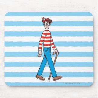 Where's Waldo Walking Stick Mouse Pad