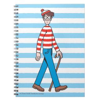 Where's Waldo Walking Stick Notebook