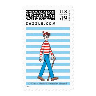 Where's Waldo Walking Stick Postage