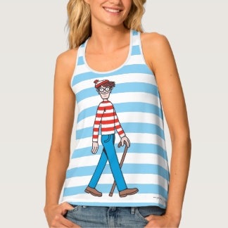Where's Waldo Walking Stick Tank Top