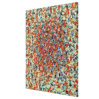 Where's Waldo | What a Dog Fight Canvas Print