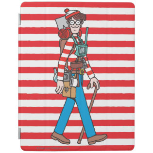 Where's Waldo with all his Equipment iPad Cover