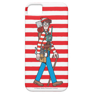 Where's Waldo with all his Equipment iPhone SE/5/5s Case