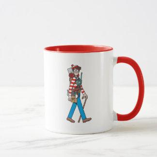 Where's Waldo with all his Equipment Mug
