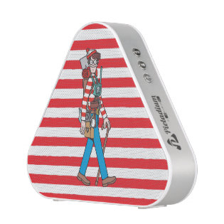 Where's Waldo with all his Equipment Bluetooth Speaker