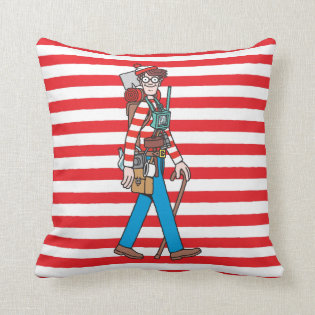 Where's Waldo with all his Equipment Pillows