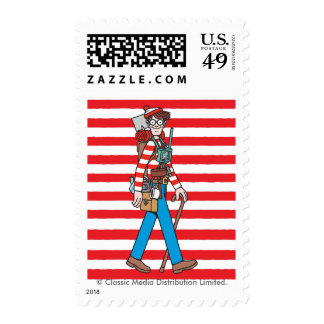 Where's Waldo with all his Equipment Postage