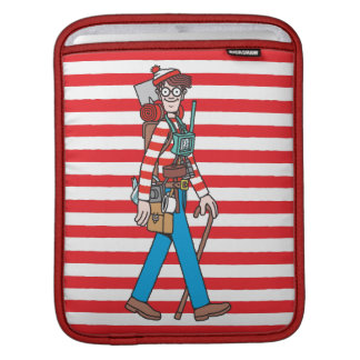 Where's Waldo with all his Equipment Sleeves For iPads
