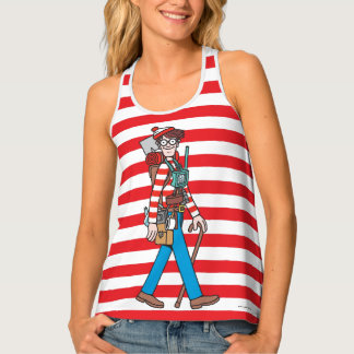 Where's Waldo with all his Equipment Tank Top