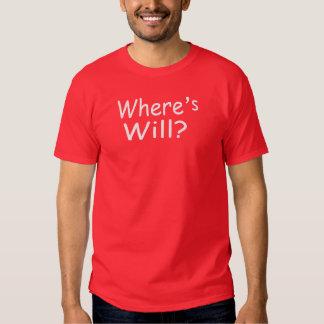 Where's Will? T-shirt