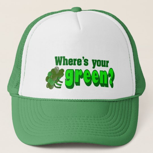 Where's Your Green Hat