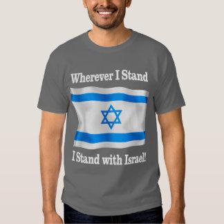 Wherever I Stand Tee Shirt