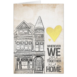 Wherever we are Together Card