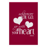 Wherever You Go, Go With All Your Heart Poster