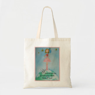 Wherever you go, go with your whole heart & soul tote bag