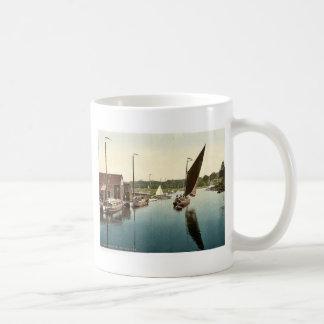 Wherry leaving Wroxham, England rare Photochrom Coffee Mug