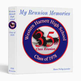 WHHS 35th Class Reunion Binder
