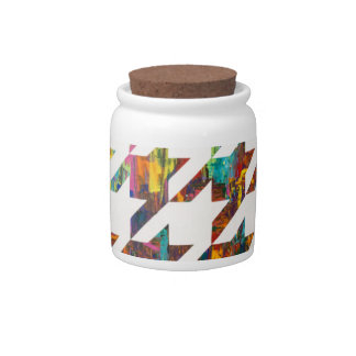 Which Came First, Galaga or Houndstooth? Candy Jars