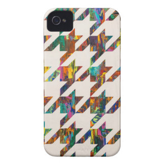 Which Came First, Galaga or Houndstooth? iPhone 4 Case-Mate Cases