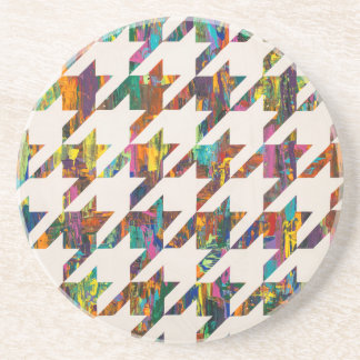 Which Came First, Galaga or Houndstooth? Coasters