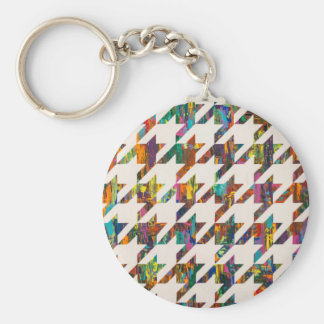 Which Came First, Galaga or Houndstooth? Key Chains