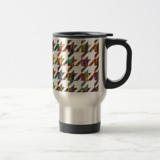Which Came First, Galaga or Houndstooth? 15 Oz Stainless Steel Travel Mug