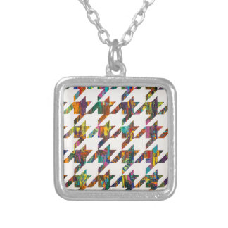 Which Came First, Galaga or Houndstooth? Necklace