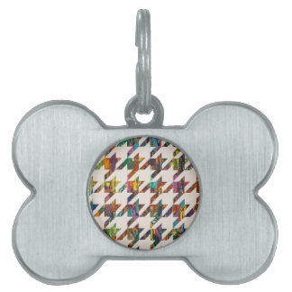 Which Came First, Galaga or Houndstooth? Pet Name Tags