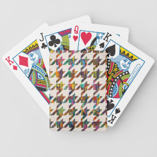 Which Came First, Galaga or Houndstooth? Bicycle Playing Cards