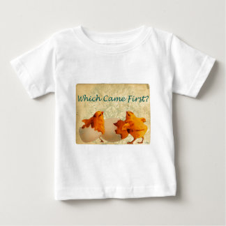 Which Came First The Chicken Or The Egg Infant T-shirt