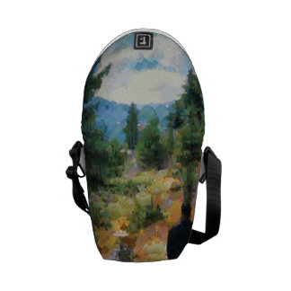 Which direction to take courier bag
