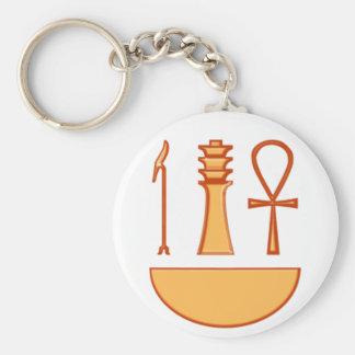 Which Djed Anch symbol triad Keychain