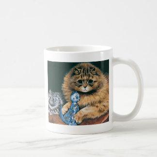 Which Do I Love Best? Louis Wain Cat Artwork Coffee Mug