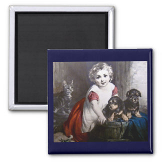 Which do you like?  Magic Lantern Slide Magnet