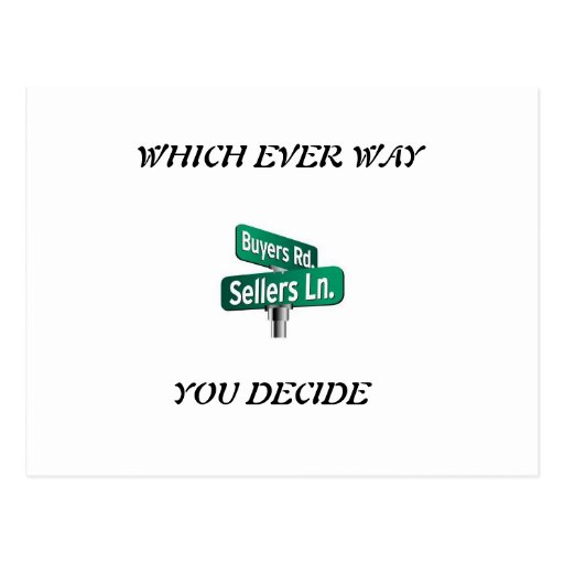 Which ever way you decide sale or buy post card