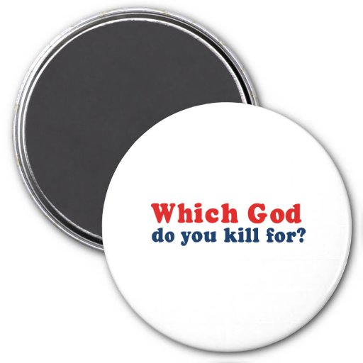 Which God do you kill for Refrigerator Magnets