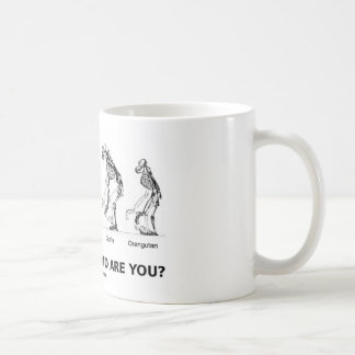 Which Hominoid Are You? (Hominid Skeletons) Coffee Mug
