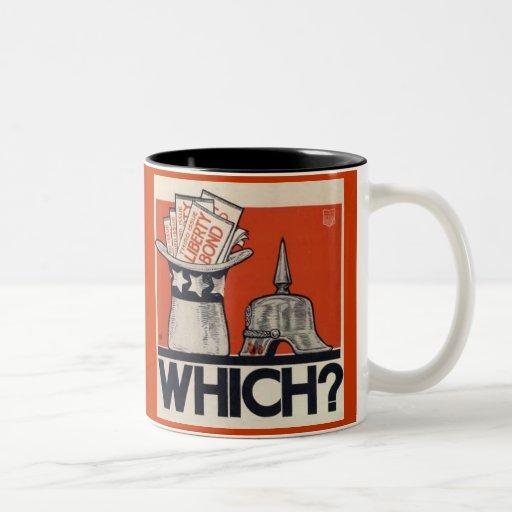 Which? Liberty Bond WW1 Mugs