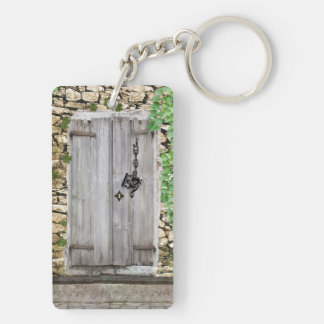 Which Music Clef as Key Fits Mysterious Door Rectangle Acrylic Key Chain