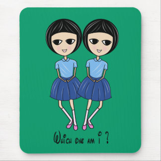 Which one am I ? Mouse Pad