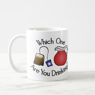 Which one are you drinking? mug