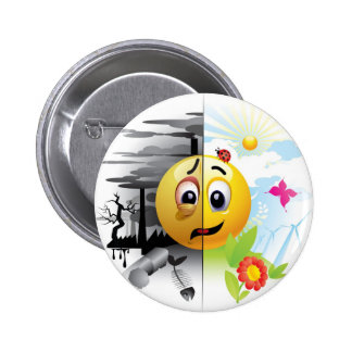 Which one are you? pinback button