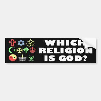 Which One? Bumper Sticker