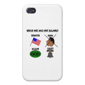 WHICH ONE DOES NOT BELONG png iPhone 4 Cases