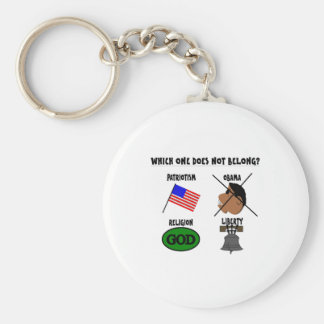 WHICH ONE DOES NOT BELONG.png Keychain